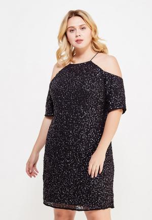 Платье Violeta by Mango. Цвет: черный