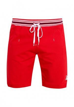 Шорты спортивные Giorgio Di Mare. Цвет: красный