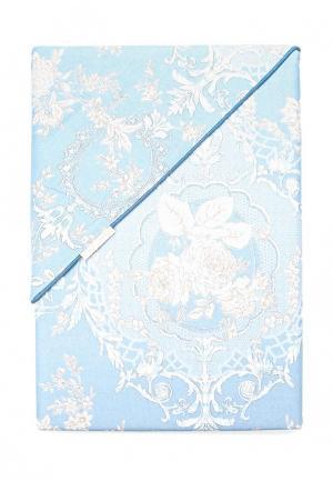 Комплект постельного белья Sofi De Marko. Цвет: синий