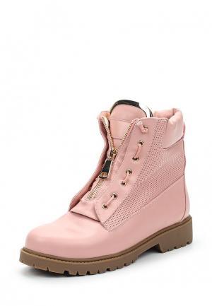 Ботинки Inario. Цвет: розовый