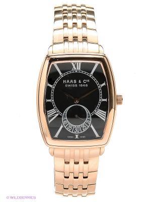 Часы HAAS & Cie. Цвет: золотистый, черный