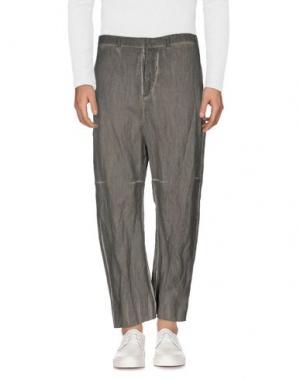 Джинсовые брюки LUMEN ET UMBRA. Цвет: серый