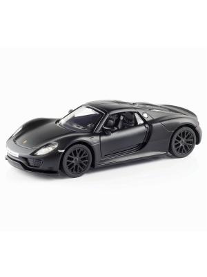 Машина металлическая Porsche HOFFMANN. Цвет: черный