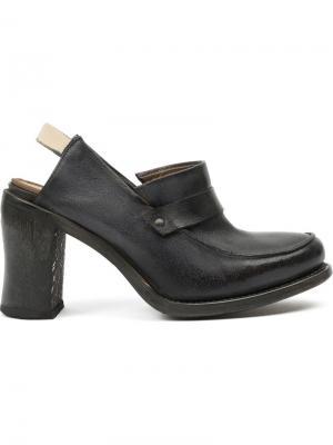 Туфли с открытой пяткой Cherevichkiotvichki. Цвет: серый
