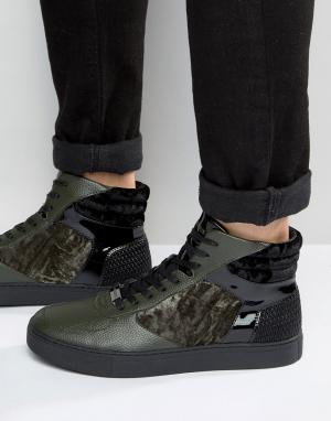 Glorious Gangsta Высокие кроссовки Xavier. Цвет: черный