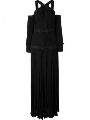 Вечернее платье Alessandra Rich. Цвет: чёрный