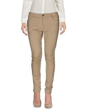 Повседневные брюки TROU AUX BICHES. Цвет: песочный