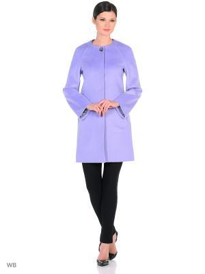 Пальто Exalta. Цвет: лиловый