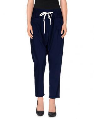 Повседневные брюки GUARDAROBA by ANIYE. Цвет: темно-синий
