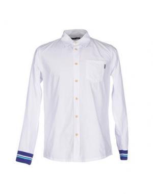 Pубашка THE QUIET LIFE. Цвет: белый