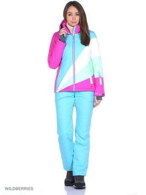 Куртка High Experience. Цвет: розовый, голубой