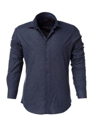 Рубашка BAWER. Цвет: темно-синий
