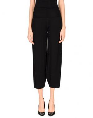 Повседневные брюки POIS. Цвет: черный