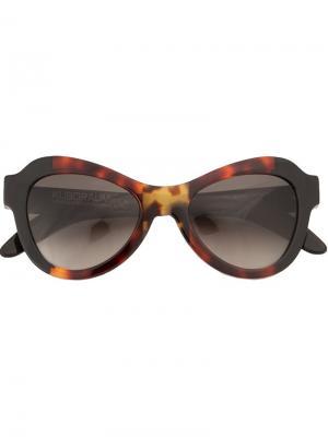 Солнцезащитные очки Kuboraum. Цвет: многоцветный