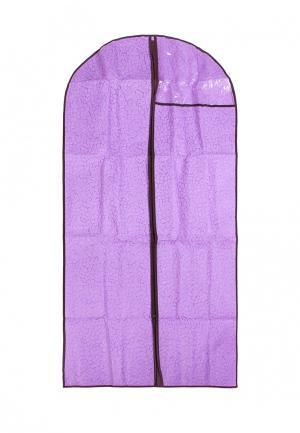 Чехол для одежды El Casa. Цвет: фиолетовый