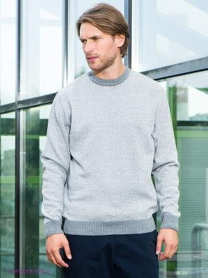 Джемпер Urban fashion for men. Цвет: серый меланж