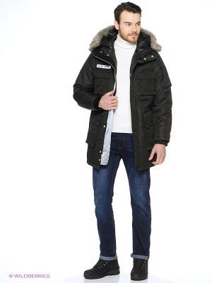 Куртка ZIQ&YONI. Цвет: черный