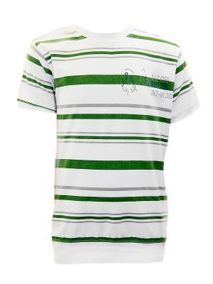 Футболка BAHAMAX. Цвет: зеленый