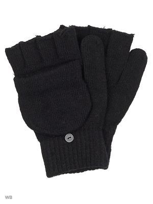 Перчатки-варежки Punta. Цвет: черный