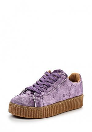 Кеды WS Shoes. Цвет: фиолетовый