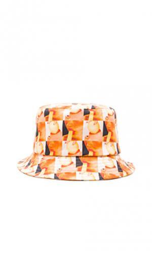 Панама magic stick Gitman Vintage. Цвет: оранжевый