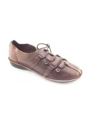 Туфли Jeleni. Цвет: коричневый