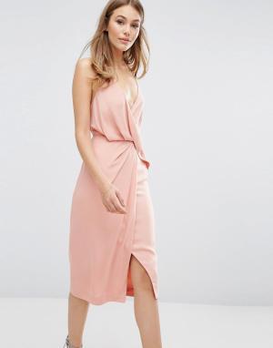 Keepsake Платье Without You. Цвет: розовый