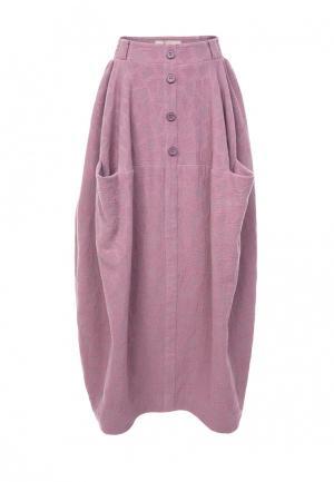 Юбка LO. Цвет: розовый