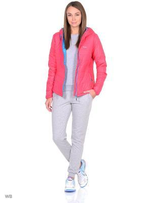 Куртка Radder. Цвет: коралловый