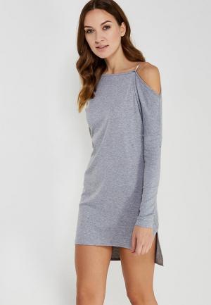 Платье Koralline. Цвет: серый