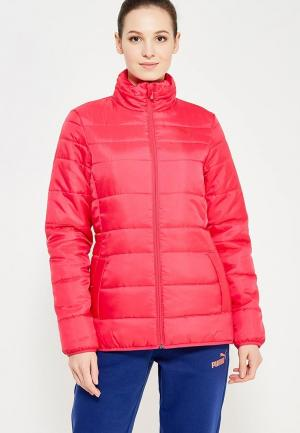Куртка утепленная PUMA. Цвет: розовый
