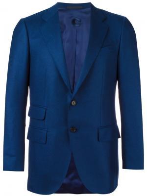 Classic blazer Caruso. Цвет: синий