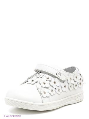 Ботинки Vitacci. Цвет: белый