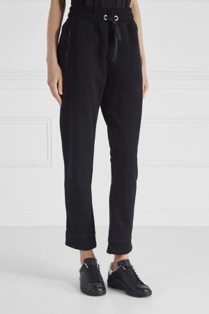 Хлопковые брюки ARTEM KRIVDA. Цвет: черный