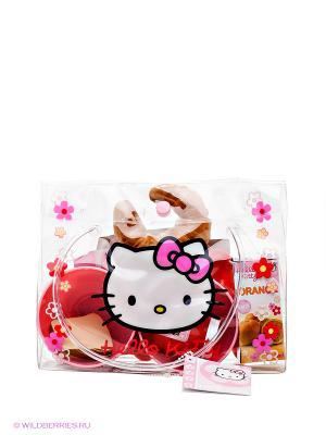 Набор для завтрака в сумке Хелло Китти Smoby. Цвет: красный