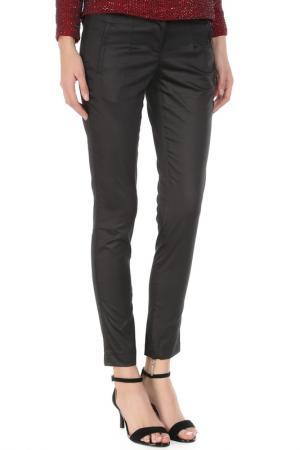Укороченные брюки с застежкой на молнию Costume National. Цвет: 900, черный
