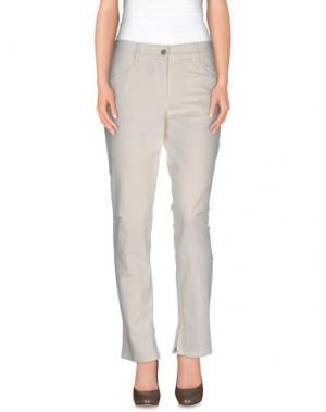 Джинсовые брюки GUNEX. Цвет: слоновая кость