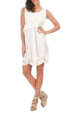 Платье Lila Rose. Цвет: белый