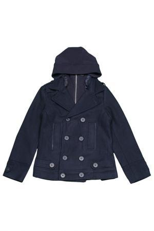 Куртка FUN. Цвет: синий