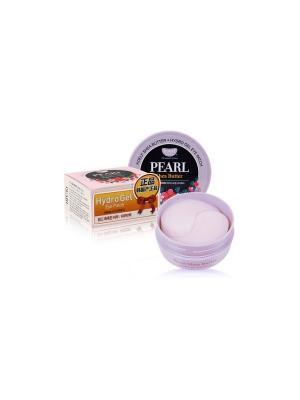 Гидрогелевые патчи для глаз с маслом ши и жемчужной пудрой 60 шт Koelf. Цвет: бежевый