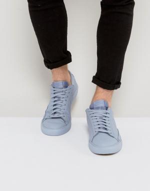 Nike Синие низкие кроссовки Blazer 371760-025. Цвет: синий