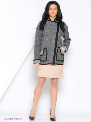 Жакет Milana Style. Цвет: серый