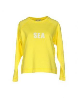 Толстовка SEA. Цвет: желтый