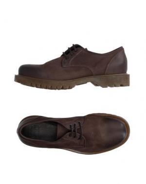 Обувь на шнурках PANTOFOLA D'ORO. Цвет: темно-коричневый
