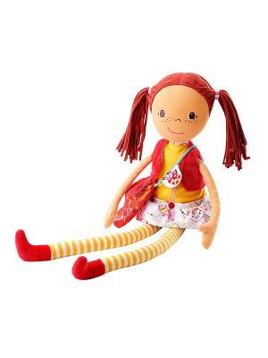 Кукла Ольга Lilliputiens. Цвет: бежевый, коричневый