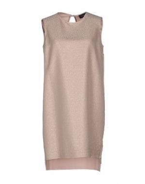 Короткое платье MALAICA. Цвет: розовый