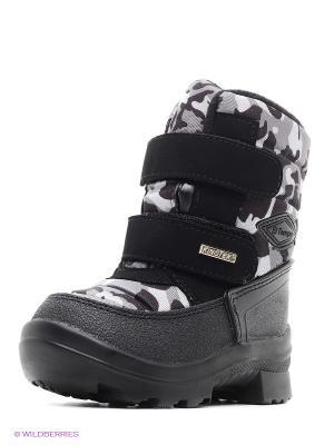 Ботинки с мембраной El Tempo. Цвет: серый