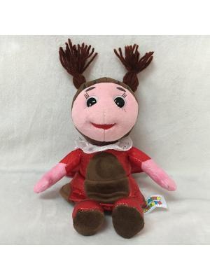 Мягкая игрушка мульти-пульти лунтик и его друзья. мила 21см. Цвет: красный, розовый