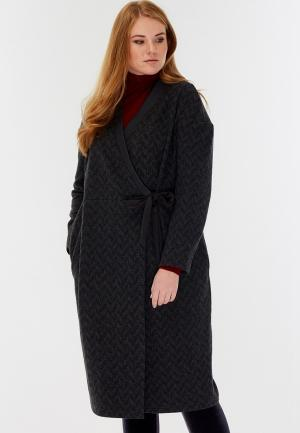 Платье W&B. Цвет: серый