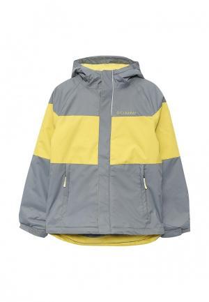 Куртка горнолыжная Columbia. Цвет: серый